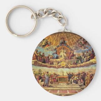 Stanza Della Signatura In The Vatican For Pope Jul Key Ring