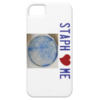 Staph Love Me in white iPhone 5 Cover