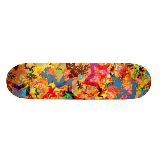 Star Abstract Skate Decks