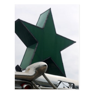 star and chrome postcard