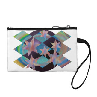 Star and Shapes Coin Wallets