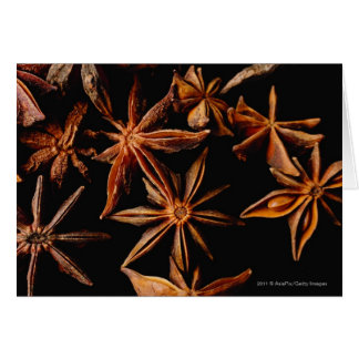 Star anise card