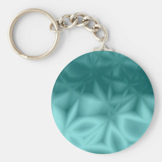 Star Anise Teal Key Ring