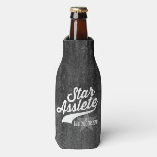 Star Asslete (Avid Indoorsman) Bottle Cooler