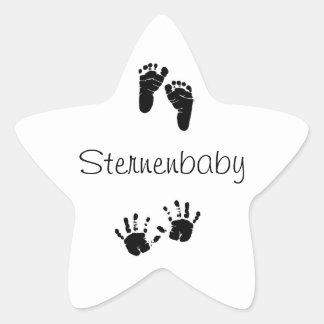 Star baby sticker