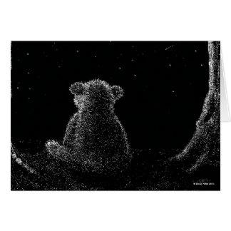 Star Bear Card