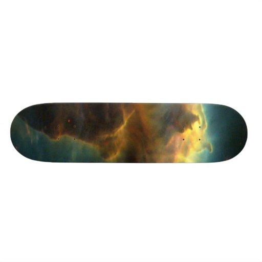 Star-Birth Clouds in M16 Custom Skate Board