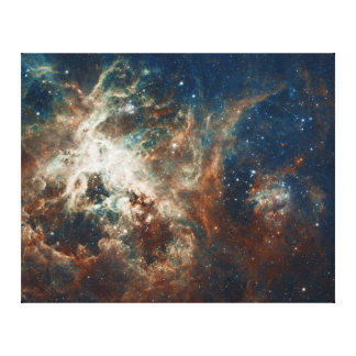 Star Birth in 30 Doradus Tarantula Nebula NGC 2070 Canvas Print