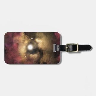 Star Birth Luggage Tag