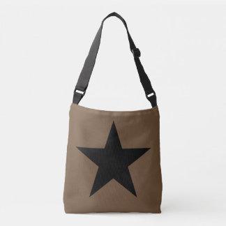 Star (black) / Custom Cross Body Bag