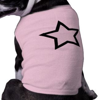 Star - Bold B W Pet Tee