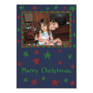 Star Bright 13 Cm X 18 Cm Invitation Card
