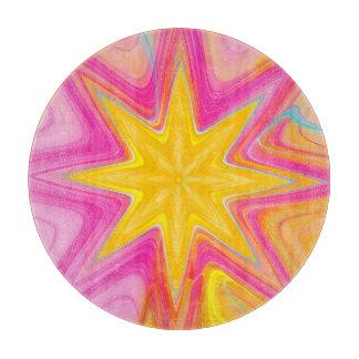 Star Burst Fractal Cutting Board
