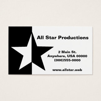 """""""Star"""" Business Cards"""