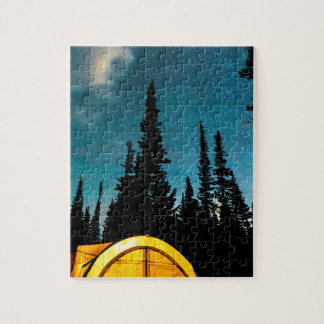 Star Camping Jigsaw Puzzle