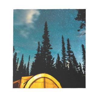 Star Camping Notepad