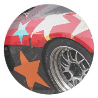 STAR CAR PLATE