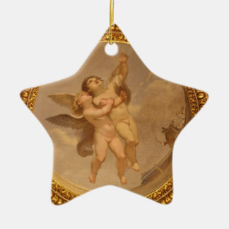 Star Ceramic Ornament