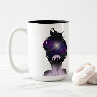 Star Child Mug by Ashley Marie