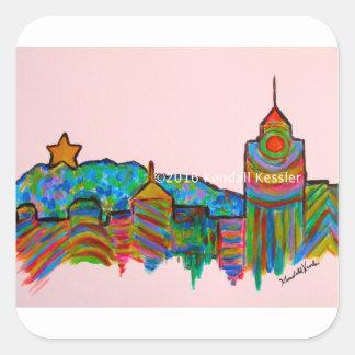 Star City Play Square Sticker