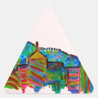 Star City Play Triangle Sticker