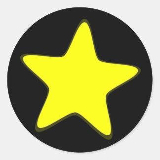 Star Classic Round Sticker