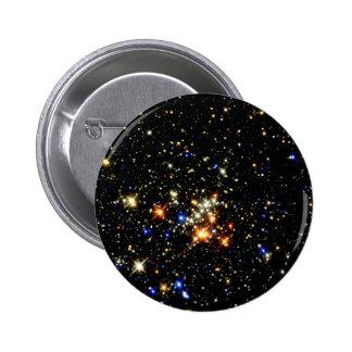 Star Cluster 6 Cm Round Badge