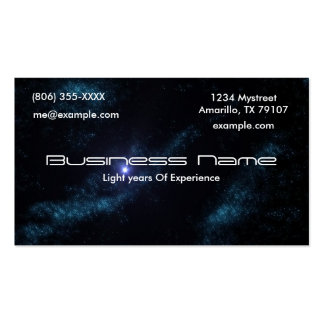 Star Cluster Business Card