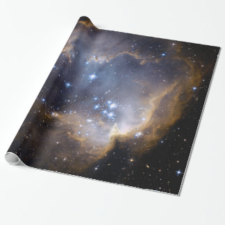 Star Cluster N90 Hubble Space Astronomy Wrapping Paper