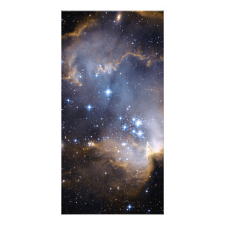 Star Cluster N90 Hubble Space Photo Greeting Card