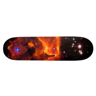 Star Cluster Pismis 24, core of NGC 6357 21.6 Cm Skateboard Deck