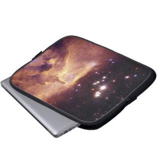 Star Cluster Pismis 24 in Emission Nebula NGC 6357 Computer Sleeve