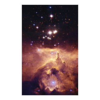 Star Cluster Pismis 24 in Emission Nebula NGC 6357 Photo Art