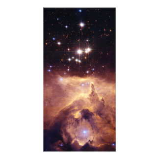 Star Cluster Pismis 24 Space Custom Photo Card