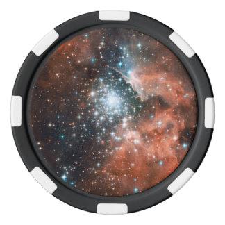 Star Cluster Poker Chips