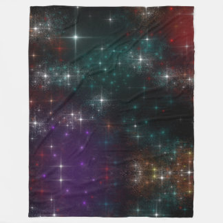 Star Clusters Fleece Blanket