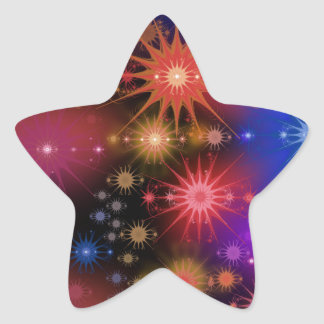Star Clusters Star Sticker