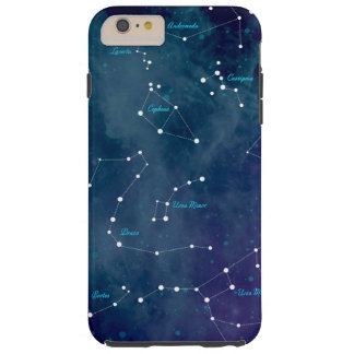 Star Constellation Sky Map Astronomy Space Tough iPhone 6 Plus Case