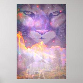 Star Cougar Poster