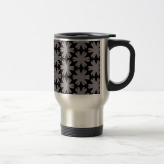 Star cutout design travel mug