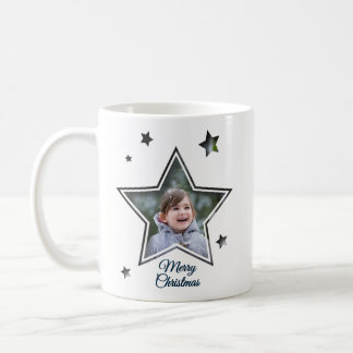 Star Cutout - Merry Christmas - Mug