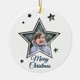 Star Cutout - Merry Christmas - Ornament