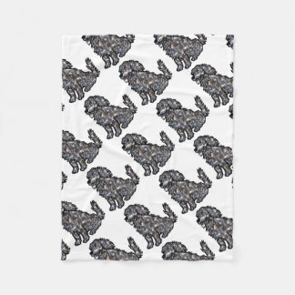 Star_Dog1 Fleece Blanket