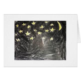 Star E Night Card