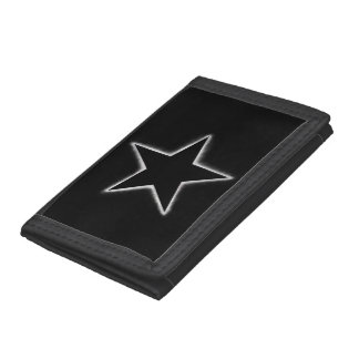 Star eclipse trifold wallet