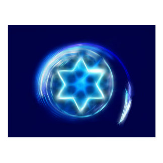Star Encircled Postcard