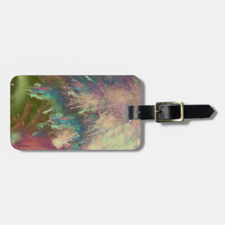 Star explode luggage tag