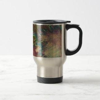Star explode travel mug