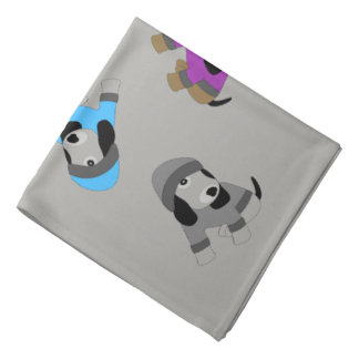 Star eyed cute Color puppy dog bandana