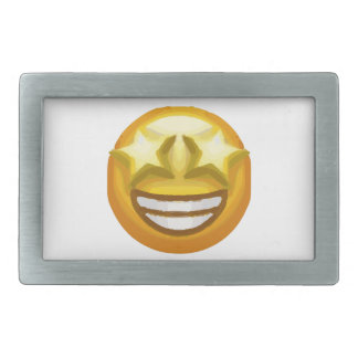 star eyes emoji belt buckles